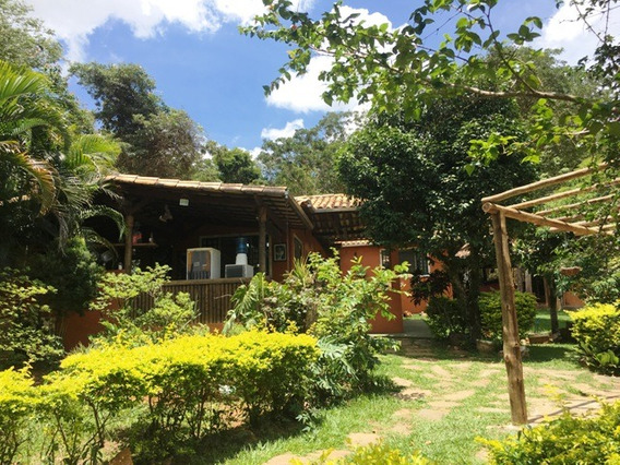 Casa Em Condomínio Com 3 Quartos Para Comprar No Condomínio Aldeia Da Cachoeira Das Pedras Em Brumadinho/mg - 976