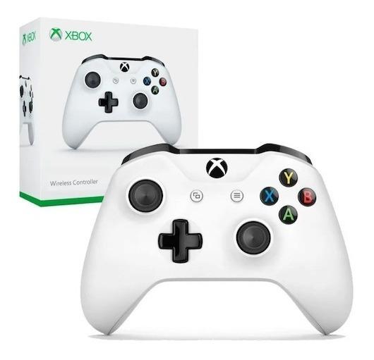 Controle Microsoft Branco Xbox One S Pronta Entrega