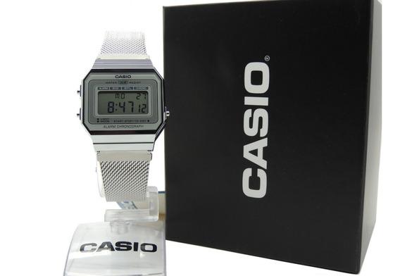 Relógio Casio Vintage Unissex A700wm-7adf Nf Envios Full