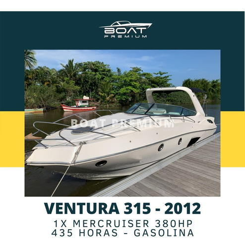 Imagem 1 de 11 de Ventura 315, 2012, 1x Mercruiser 380hp - Focker - Real