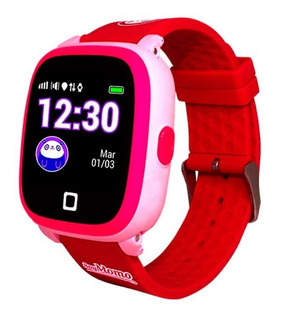 Momo H2o Waterproof Reloj Celular Soymomo Gps Rosa