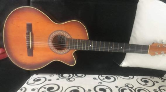 Vendo Guitarra Acustica Con Libro De Aprendisaje Y Forro