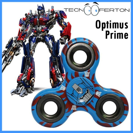 Fidget Spinner 2019 Transformers Bumblebee Optimus Prime