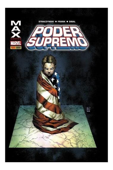 Poder Supremo - Capa Dura - Marvel