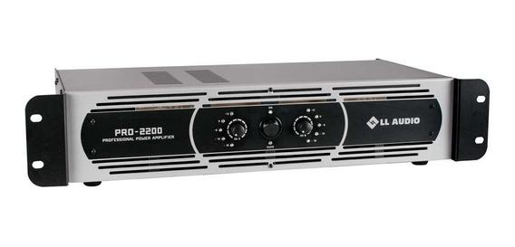 Amplificador Potência Profissional Ll Pro 2200 550w Rms
