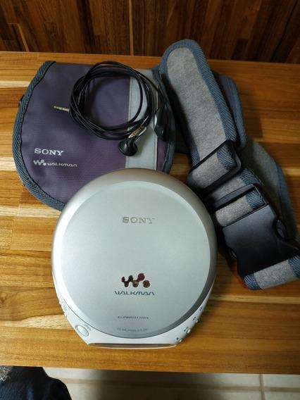 Discman Sony D-ej361 Raro - Ítem De Colecionador