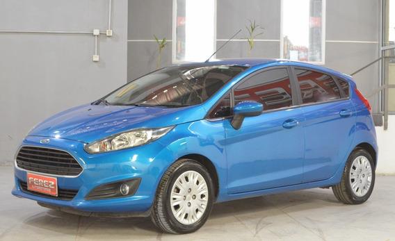 Ford Fiesta S Nafta 2015 5 Puertas Color Azul Impecable!!