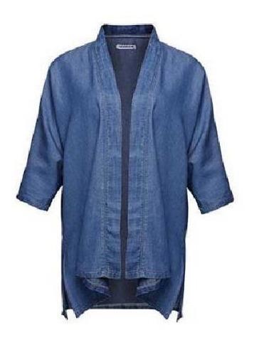 Suéter Ensamble Para Dama Azul Mezclilla Mundo Terra 010361