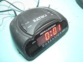 Rádio Relógio Batiki