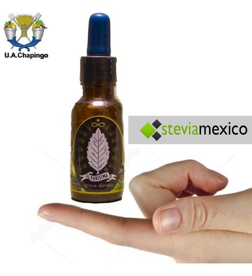 Stevia Líquida En Gotero De 20 Ml. La Purisima