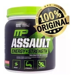 Pré-treino Assault Musclepharm(30 Ds) Importado Original