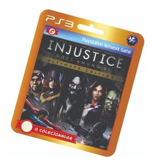 Promoção! Injustice Ultimate Edition