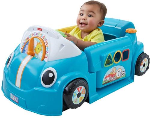 Imagen 1 de 7 de Fisher-price Smart Stages Crawl Around Carro Azul