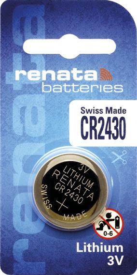 10 Pilhas Baterias 2430, Relógios 3v Renata Cr2430 Original