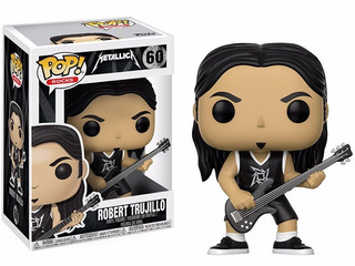 Funko Pop! Rocks: Metallica - Robert Trujillo - Blue Marble