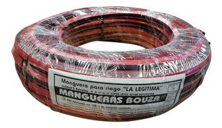 Manguera Rollo Riego 1/2 X 15 Metros Pvc Reforzada