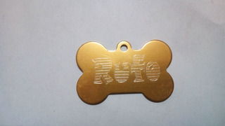 Placas De Identificación Grabadas Para Perros O Gatos