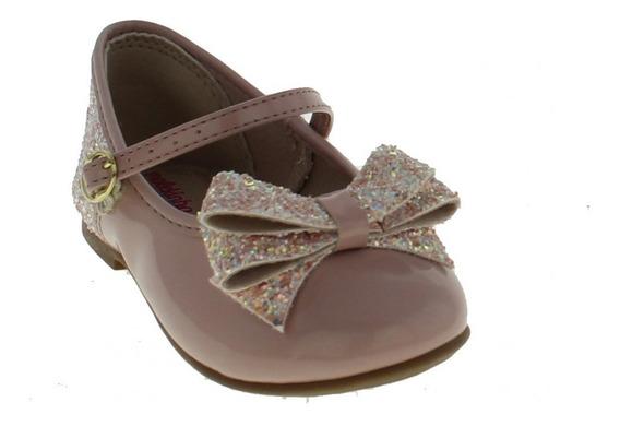 Sapatilha Menina Molekinha2106.176 Infantil Glitter Glamour