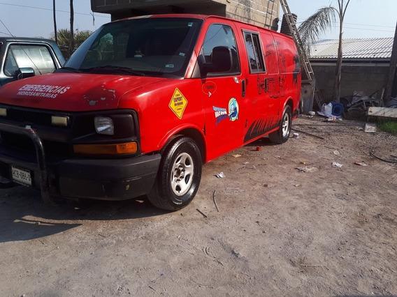 Chevrolet Van Express 2004 8 Ptas Automatica 6 Cil.