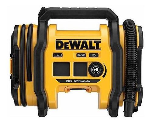 Dewalt Dcc020ib - Inflador Maximo De 20 V