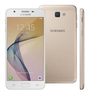 Smartphone Samsung Galaxy J5 Prime Dourado G570m Vitrine