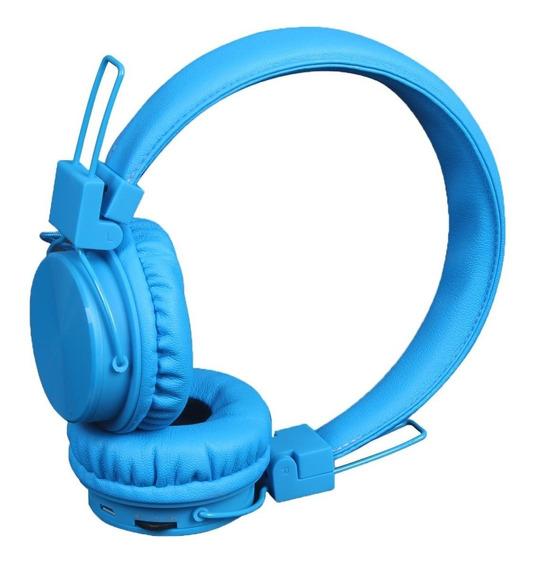 Fone De Ouvido Bluetooth Kimaster K3 Azul Headphone