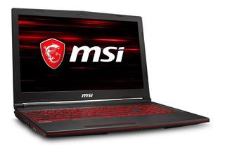 Portatil Gamer Msi I7-8750h 16gb 1tb + 256gb Gtx 1050ti