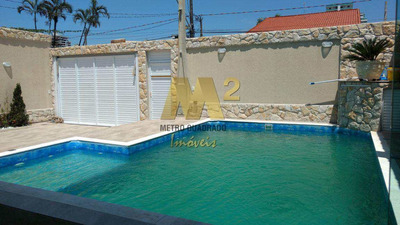Casa De 3 Dormitórios À Venda. Canto Do Forte, Praia Grande. - V3307