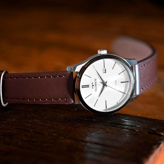 Relógio Masculino Technos 2115mpp/1k Original C/ Nota Fiscal