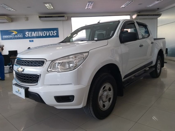 Chevrolet S10 2.4 Ls 4x2 Cd 8v Flex 2015 Branca