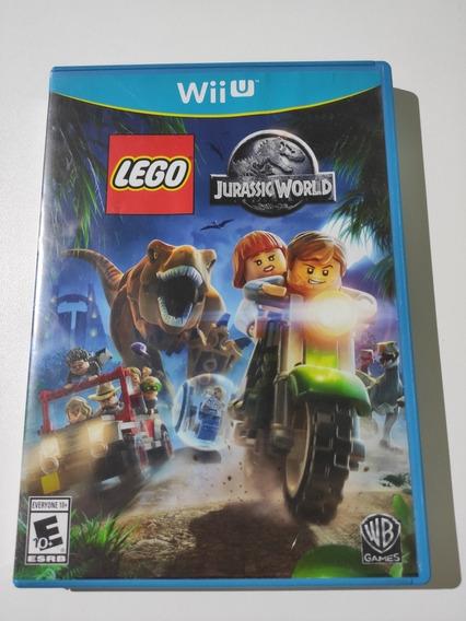 Lego Jurassic World Americano Mídia Física Wii U