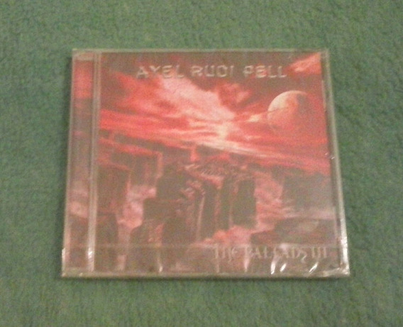 Cd Axel Rudi Pell-the Ballads 3.steeler.yngwie.rob.rata.edgu