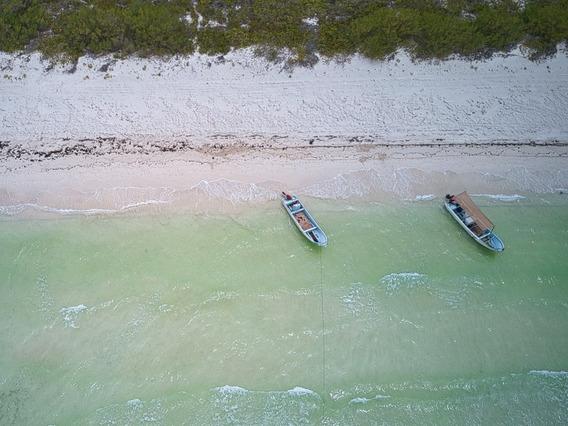 Terreno Frente Al Mar En El Cuyo, Tizimin Yucatán. Mexico.