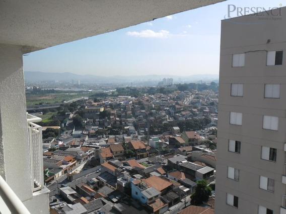 Apartamento Com 3 Dormitórios Para Alugar, 61 M² Por R$ 1.200,00/mês - Ponte Grande - Guarulhos/sp - Ap0348