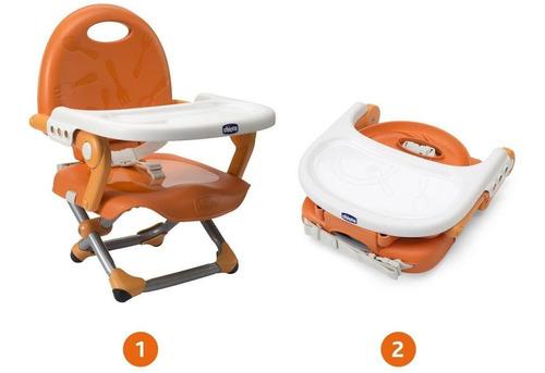 Cadeira Assento Elevat. Pocket Snack Mandarim Chicco 0793407