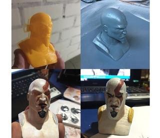 Busto De Kratos