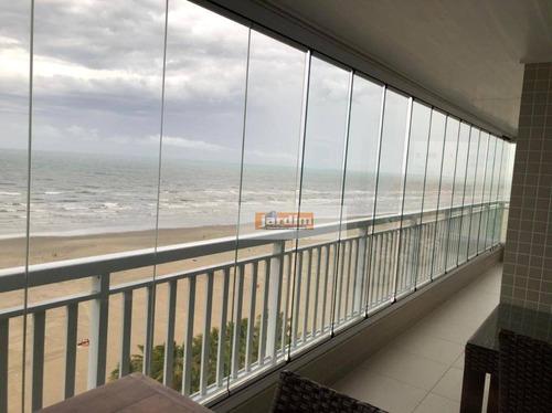 Apartamento Com 3 Dormitórios À Venda, 156 M² - Aviação - Praia Grande/sp - Ap7276