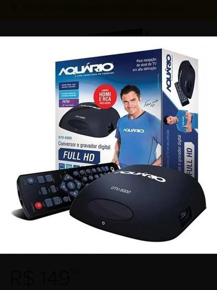 Conversor Digital Dtv-500 + Função + Gravador + Hdmi