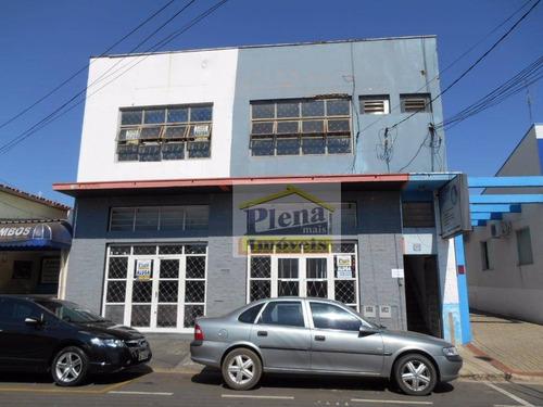 Salão  Comercial Para Locação, Centro, Sumaré. - Sl0374