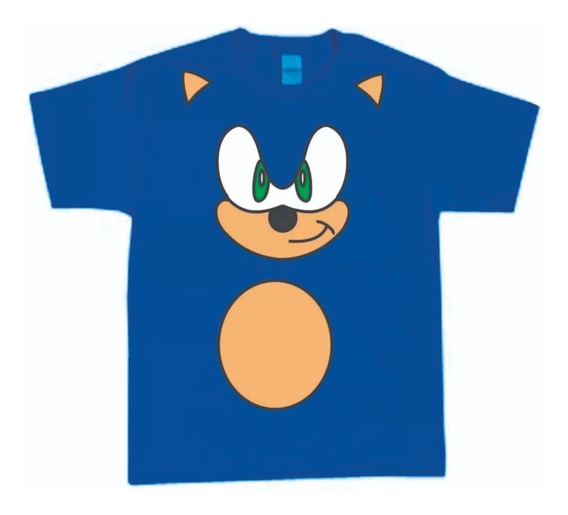 Fantasia Camiseta Infantil Do Sonic-tails-sonic Shadow