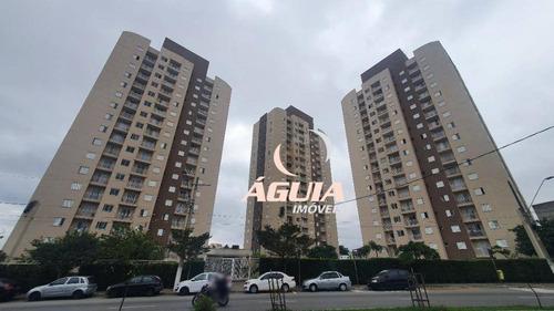 Apartamento Com 2 Dormitórios À Venda, 50 M² Por R$ 260.000,00 - Parque Novo Oratório - Santo André/sp - Ap1463