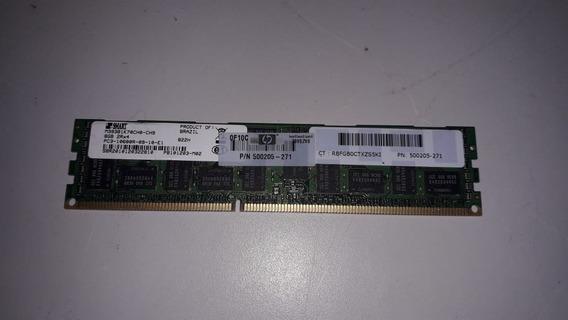 Memoria Servidor 8gb Ddr3 Ecc/reg Pc3-10600r 1333mhz 500205-