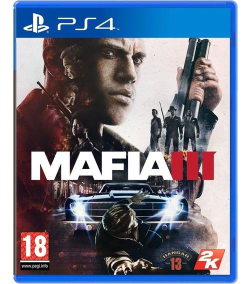 Jogo Mafia 3 Ps4 Disco Físico Game Lacrado Promoção Br