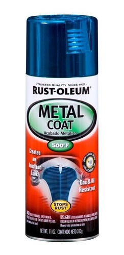 Aerosol Rust Oleum Metal Coat Efecto Anodizado | 312gr