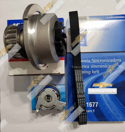 Kit Distribucion Chevrolet Corsa 1.4 1.6 Agile C/ Bomba Agua