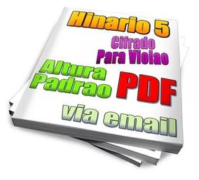 Hinário 5 Para Violao Ccb Cifrado Arquivo Digital Pdf Email