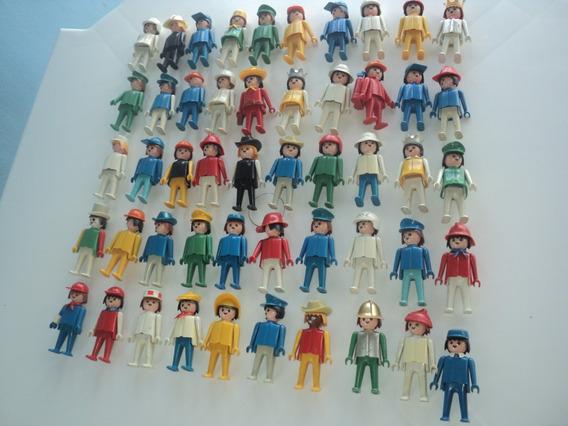 Kit Com 50 Bonecos Diversos Playmobil-divesas Cores-usado-1