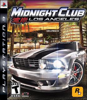 Ps3 - Midnight Club La (acepto Mercado Pago Y Oxxo)