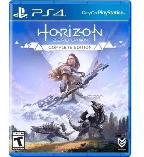 Jogo Ps4 Horizon Zero Dawn Complete Edition Midia Fisica