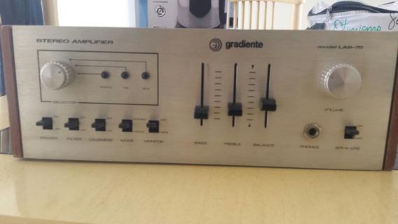 Amplificador Gradiente Lab 75 (receiver, Rádio)